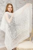 красивая ажурная шаль