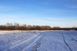 Зимняя степь