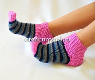 красивые вязаные носки советы от рукодельницы