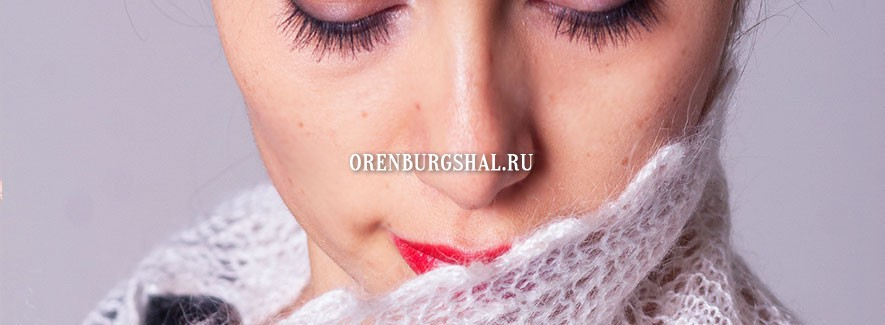 Downy shawl from Orenburg