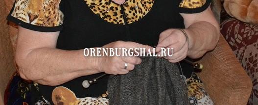 вязание платка