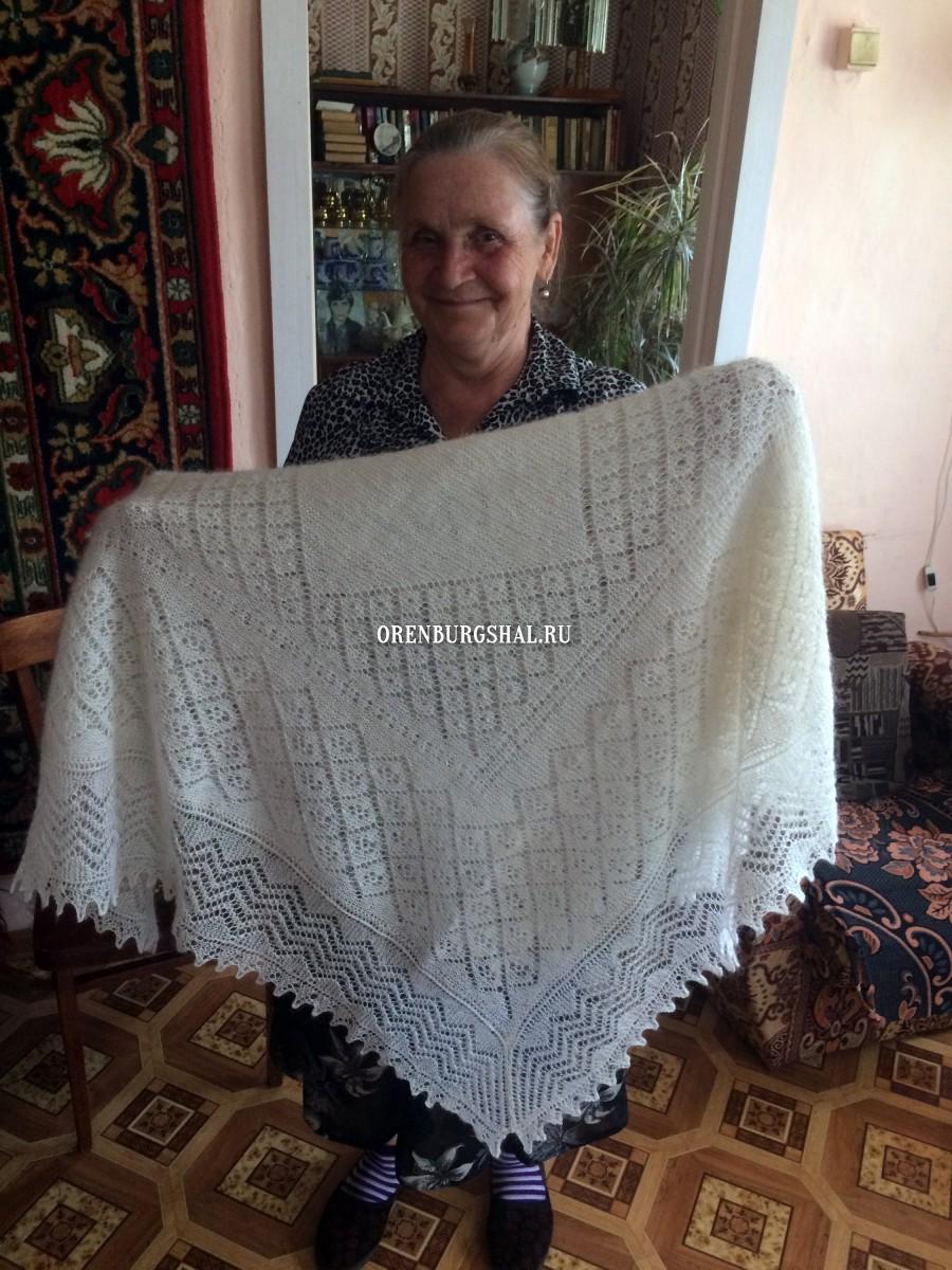 оренбургский пуховый платок мастерица