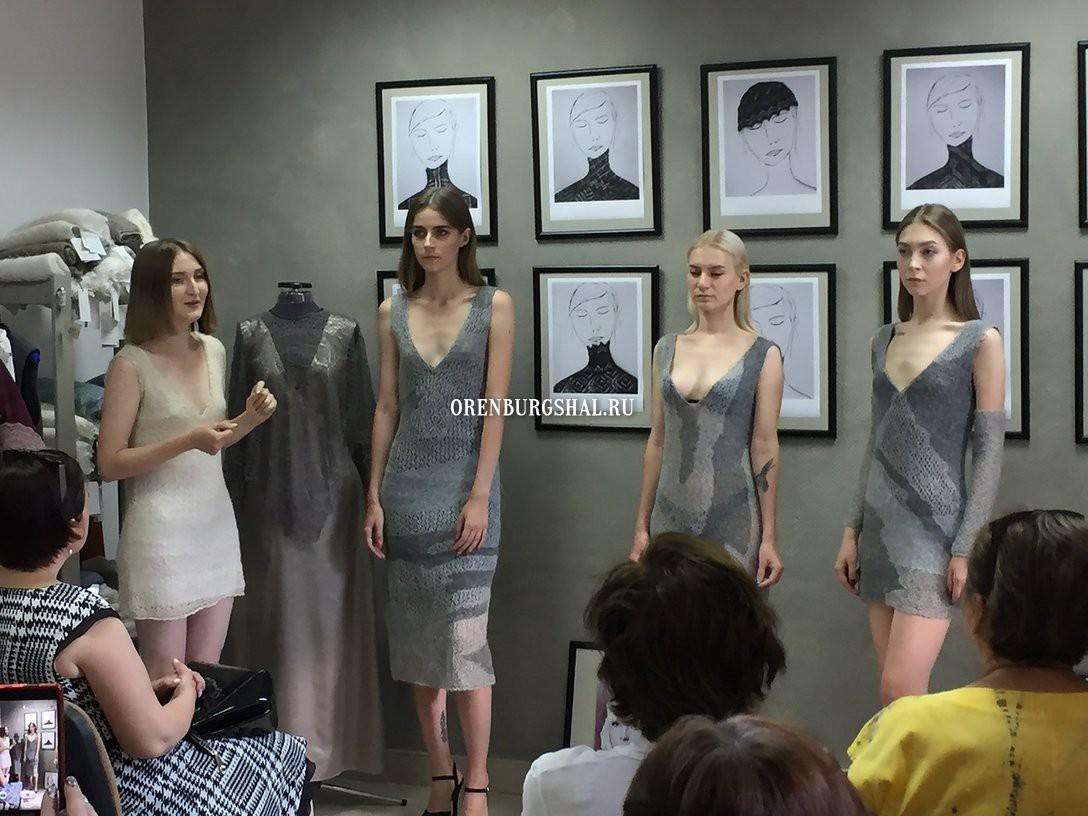 выставка оренбургских платков