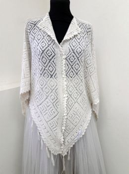 белая шаль манекен