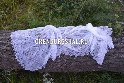 пуховый платок из оренбурга