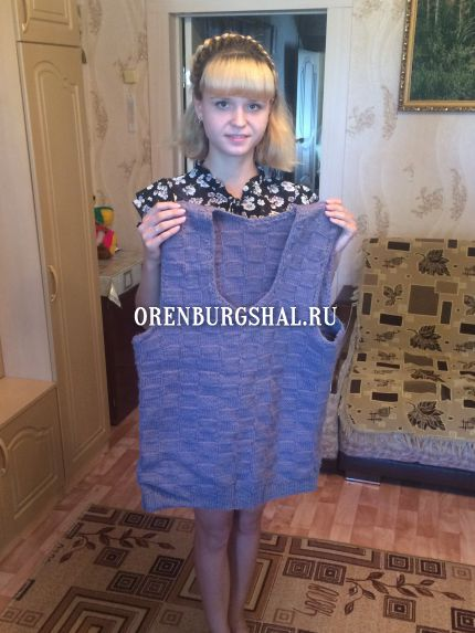 мастерица оренбургский пуховый платок