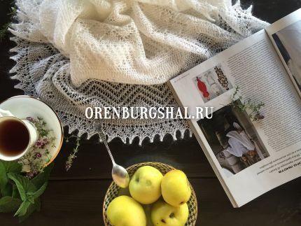 вязание оренбургских платков