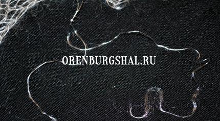 оренбургский платок подделка