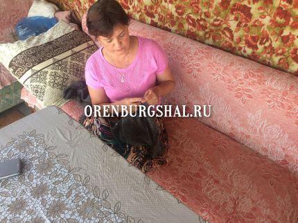 оренбургская вязальщица