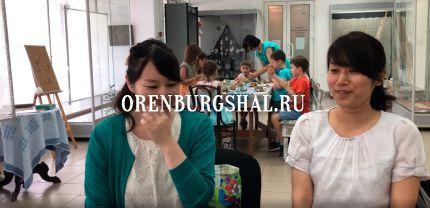 галерея оренбургский пуховый платок