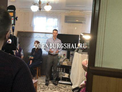 фильм об оренбургском платке