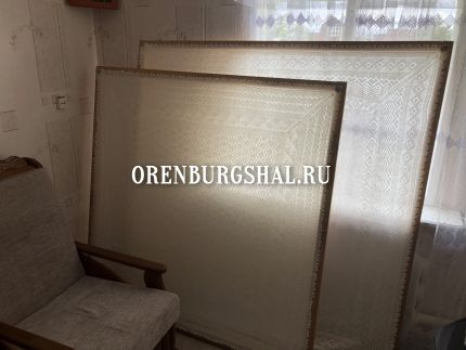 пуховые платки оренбург