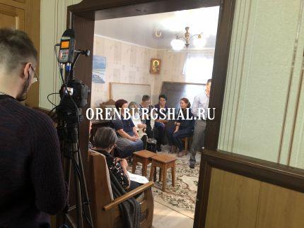 оренбургский пуховый платок фильм