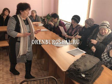 собрание мастериц оренбургского пухового платка
