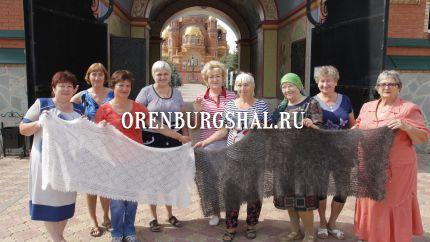 вязальщицы оренбургских платков