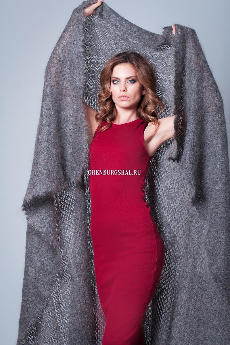 """Теплая шаль """"Екатерина Великая"""""""