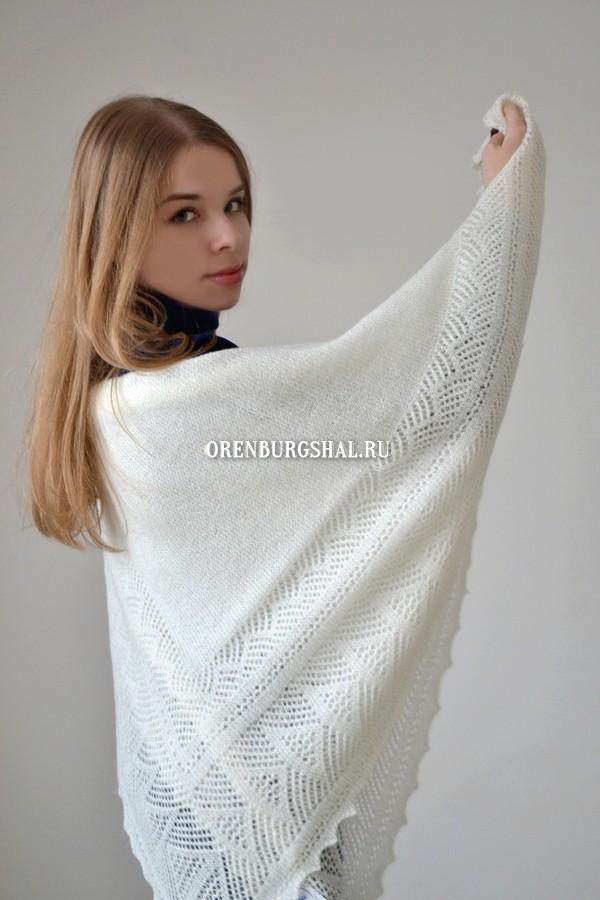 Купить оренбургскую шаль