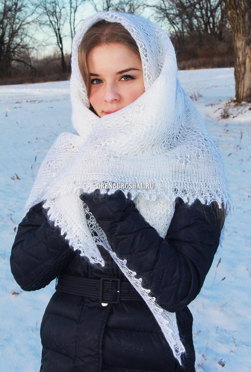 """Паутинка плотная ажурная """"Снежное облако"""""""