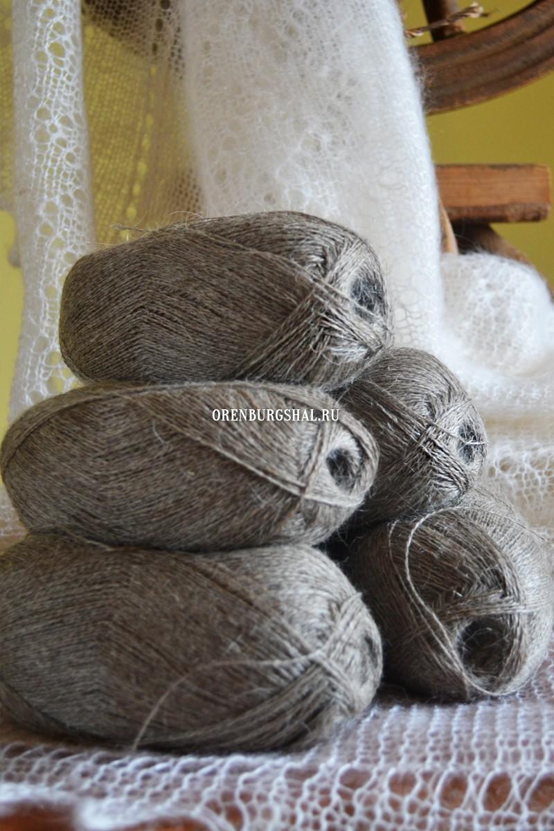 Купить пуховые нитки для вязания платка