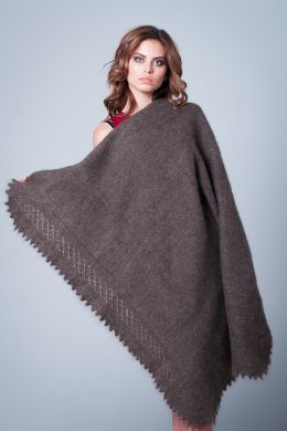 Gray shawl 'Little miss'