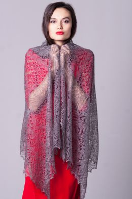 "Delicate stole ""Light touch"""