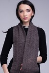 "Gray scarf ""The favorite"""
