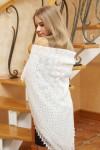 Белый платок 130х130